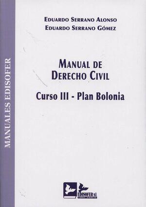 MANUAL DE DERECHO CIVIL III PLAN BOLONIA