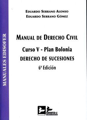 MANUAL DE DERECHO CIVIL (CURSO V-PLAN BOLONIA)