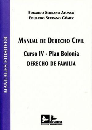MANUAL DE DERECHO CIVIL (CURSO IV-PLAN BOLONIA)