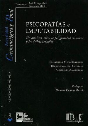 PSICOPATIAS  IMPUTABILIDAD