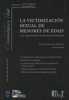 LA VICTIMIZACION SEXUAL DE MENORES DE EDAD
