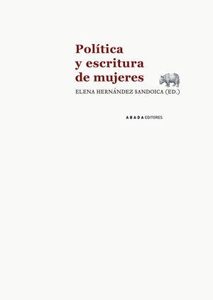 POLÍTICA Y ESCRITURA DE MUJERES