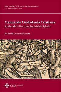 MANUAL DE CIUDADANÍA CRISTIANA