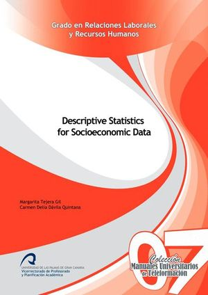 DESCRIPTIVE STATISTICS FOR SOCIOECONOMIC DATA