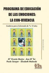 PROGRAMA EDUCACION EMOCIONES LA CON-VIVENCIA CUADERNO 7-12