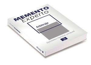 MEMENTO EXPERTO ARBITRAJE