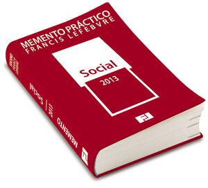 MEMENTO PRÁCTICO SOCIAL 2013