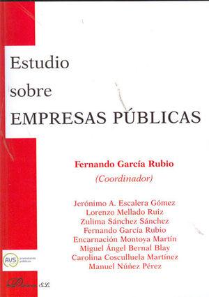 ESTUDIO SOBRE EMPRESAS PÚBLICAS