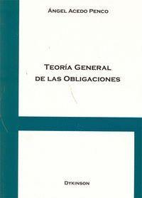 TEORA GENERAL DE LAS OBLIGACIONES