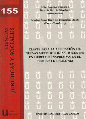 CLAVES PARA LA APLICACIÓN DE NUEVAS METODOLOGÍAS DOCENTES EN DERECHO INSPIRADAS EN EL PROCESO DE BOLONIA