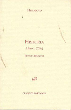 HISTORIA. LIBRO I (CLÍO)