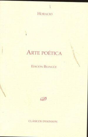 ARTE POÉTICA. EDICIÓN BILINGÜE