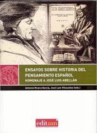 ENSAYOS SOBRE HISTORIA DEL PENSAMIENTO ESPAÑOL
