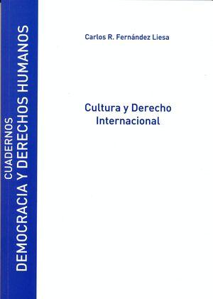 CULTURA Y DERECHO INTERNACIONAL