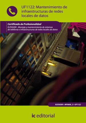 MANTENIMIENTO DE INFRAESTRUCTURAS DE REDES LOCALES DE DATOS. ELES0209 - MONTAJE Y MANTENIMIENTO DE SISTEMAS DE TELEFONÍA E INFRAESTRUCTURAS DE REDES L