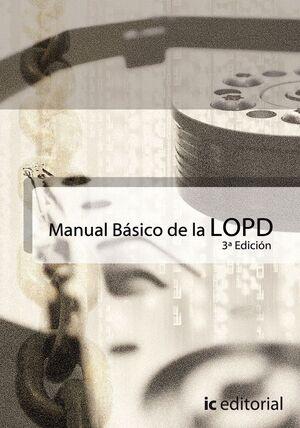 MANUAL BÁSICO DE LA LOPD