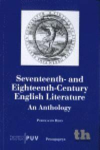 SEVENTEENTH AND EIGHTEENTH CENTURY ENGLISH LITERATURE