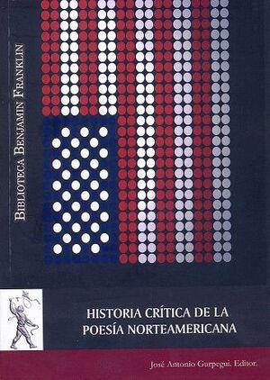 HISTORIA CRÍTICA DE LA POESÍA CONTEMPORÁNEA