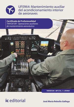 MANTENIMIENTO AUXILIAR DEL ACONDICIONAMIENTO INTERIOR DE AERONAVES. TMVO0109 - OPERACIONES AUXILIARES DE MANTENIMIENTO AERONÁUTICO