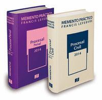 PACK MEMENTO PRÁCTICO PROCESAL PENAL 2014 + MEMENTO PRACTICO PROCESAL CIVIL 2014