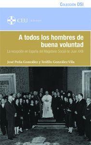 A TODOS LOS HOMBRES DE BUENA VOLUNTAD