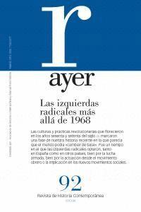 LAS IZQUIERDAS RADICALES MÁS ALLÁ DE 1968 AYER 91