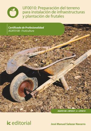 PREPARACIÓN DEL TERRENO PARA LA INSTALACIÓN DE INFRAESTRUCTURAS Y PLANTACIÓN DE FRUTALES. AGAF0108 - FRUTICULTURA