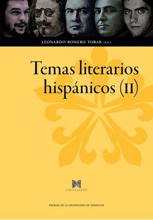 TEMAS LITERARIOS HISPÁNICOS (II)