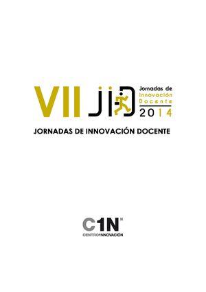 VII JORNADAS DE INNOVACIÓN DOCENTE 2014 (OVIEDO, 5 DE DICIEMBRE DE 2014)