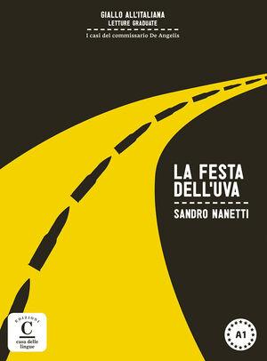 COLECCIÓN GIALLO ALL'ITALIANA. LA FESTA DELL'UVA. LIBRO + MP3