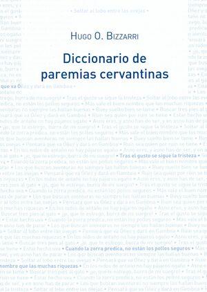DICCIONARIO DE PAREMIAS CERVANTINAS