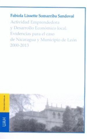 ACTIVIDAD EMPRENDEDORA Y DESARROLLO ECONÓMICO LOCAL