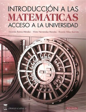 INTRODUCCIÓN A LAS MATEMÁTICAS (5ª ED. REVISADA)
