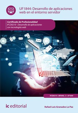 DESARROLLO DE APLICACIONES WEB EN EL ENTORNO SERVIDOR. IFCD0210 - DESARROLLO DE APLICACIONES CON TECNOLOGÍAS WEB