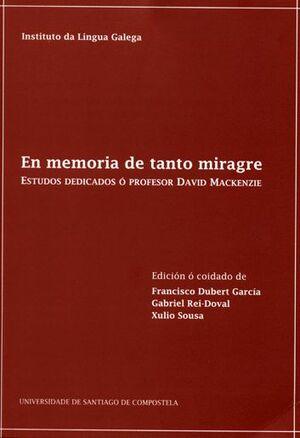 EN MEMORIA DE TANTO MIRAGRE