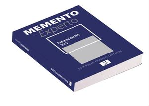 MEMENTO EXPERTO REFORMA DEL IVA 2015