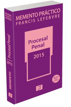 MEMENTO PRÁCTICO PROCESAL PENAL 2015. POD