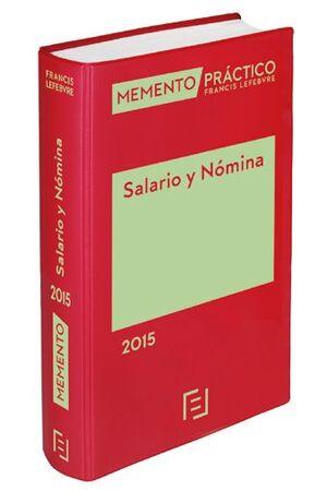 MEMENTO PRÁCTICO SALARIO Y NÓMINA 2015