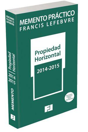 MEMENTO PRÁCTICO PROPIEDAD HORIZONTAL 2014-2015. POD