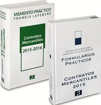PACK MEMENTO CONTRATOS MERCANTILES 2015 + FORMULARIOS CM 2015