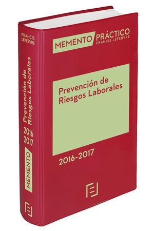 MEMENTO PRÁCTICO PREVENCIÓN DE RIESGOS LABORALES 2016-2017