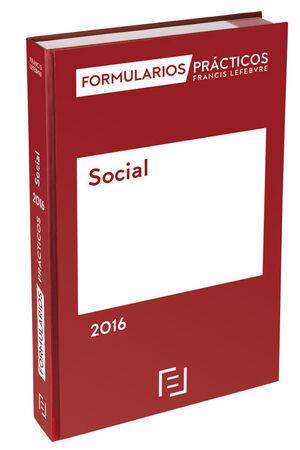 FORMULARIOS PRÁCTICOS SOCIAL 2016
