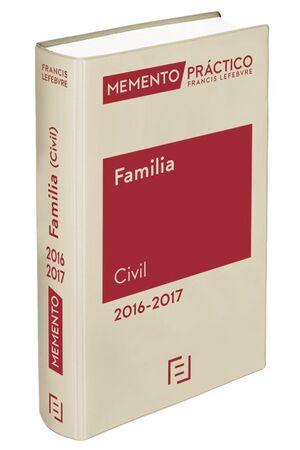 MEMENTO PRÁCTICO FAMILIA 2016-2017