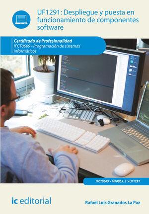 DESPLIEGUE Y PUESTA EN FUNCIONAMIENTO DE COMPONENTES SOFTWARE. IFCT0609 - PROGRAMACIÓN DE SISTEMAS INFORMÁTICOS