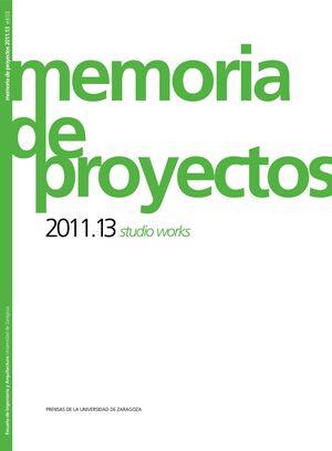 MEMORIA DE PROYECTOS 2011-13
