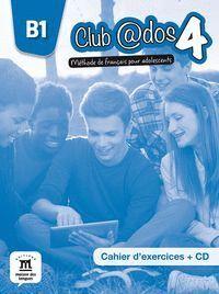 CLUB ADOS 4 CAHIER D´EXERCICES + CD