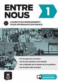 ENTRE NOUS 1 CAHIER D´ACCOMPAGNEMENT FRANCE + CD