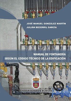 MANUAL DE FONTANERÍA SEGÚN EL CÓDIGO TÉCNICO DE LA EDIFICACIÓN