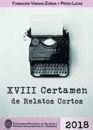 XVIII CERTAMEN DE RELATOS CORTOS 2018