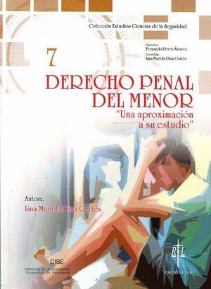 DERECHO PENAL DEL MENOR